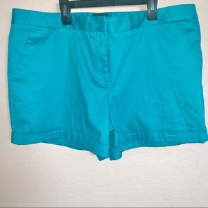 Attention teal shorts size 18